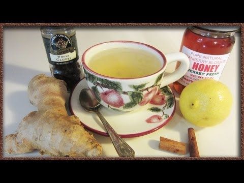 DIY Cold And Flu Remedy - The Craft Of Making Ginger Tea