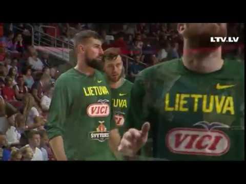 Latvia - Lithuania ( Friendly game, 19.08.2017. )