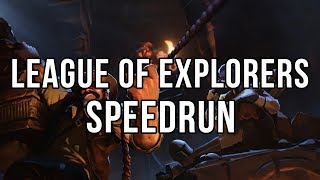 Speedrun League of Explorers