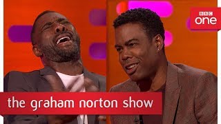 chris rock and idris elba talk about meeting barack and michelle obama the graham norton show