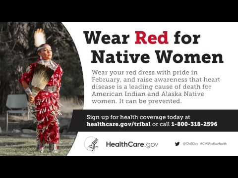 Wear Red For Native Women - Ojibwe