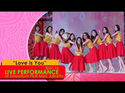 Cherrybelle - Love Is You [LIVE] at Emporium Pluit