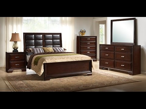Jacob Collection (B6510/B6515) by Crown Mark Furniture - YouTube