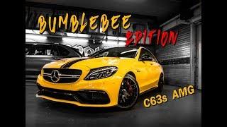 C63s AMG | Bumblebee Edition ☢ - zuuuu heftig !!!  | Folien Prinz
