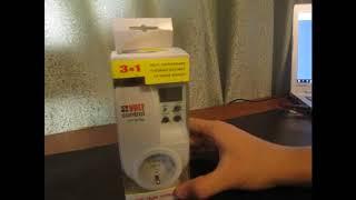 Обзор на реле напряжения Автомат защиты VOLT CONTROL PH-101МL