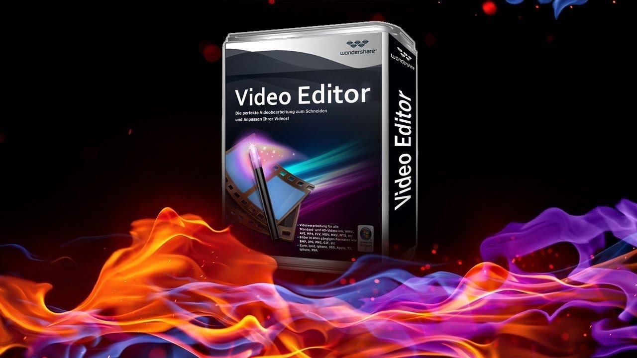 wondershare video editor 5.1 1 registration code