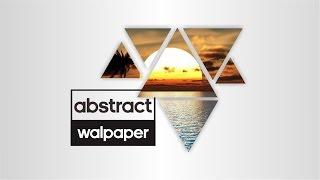 Abstract Shape Wallpaper - Tutorial CorelDraw Indonesia