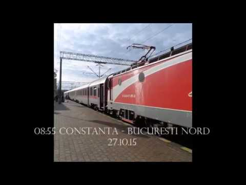 Constanta county & river Danube by train