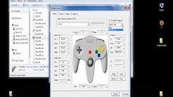 Descargar y configurar project 64 1.7