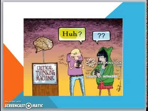 process of critical thinking ppt