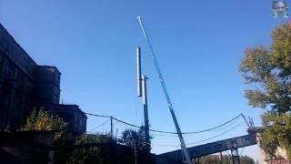 видео Дымовые трубы для котельных