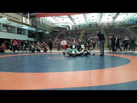 2016 Dino Invitational: 63 kg Ali McPhee vs. Kathrin Waeckerlin