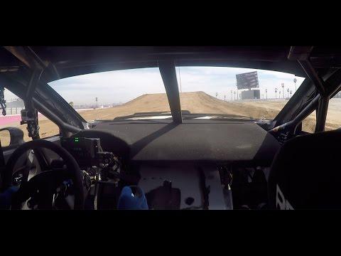 Riding Passenger In Subaru's Red Bull Global Rallycross Championship WRX STI