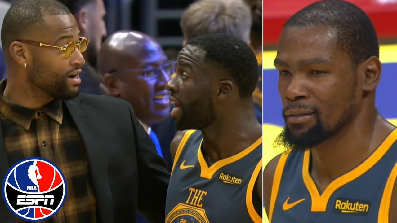 Kevin Durant, Draymond Green get heated at end of regulation vs. Clippers | NBA on ESPN