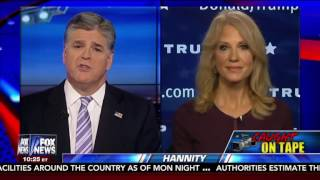trump campaign manager kellyanne conway comments on donald ducks project veritas action video