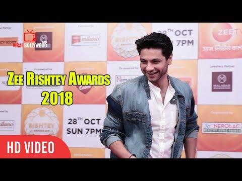 Mishal Raheja At Zee Rishtey Awards 2018 | #ZeeAwards2018