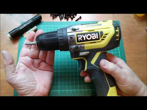 Too Clever? Ryobi R18PD5 Brushless Electric Drill/Driver