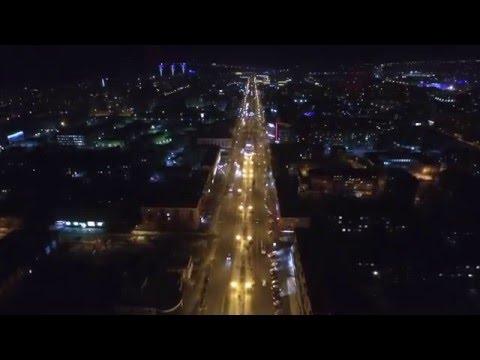 Night Barnaul Altay, Russia