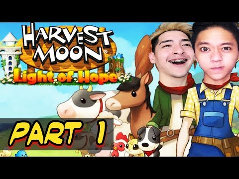 LEARNING HOW TO BE FARMERS - HARVEST MOON: LIGHT OF HOPE