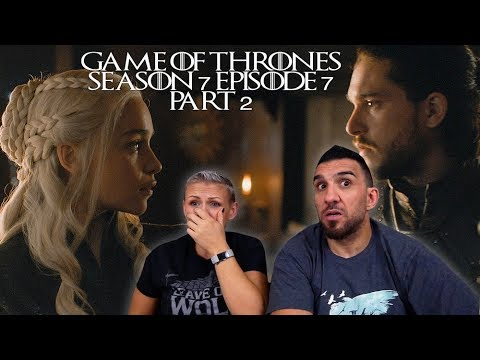 Game of Thrones Season 7 Episode 7 'The Dragon and the Wolf' Part 2 REACTION!!