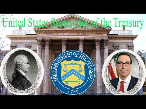 United States Secretaries of the Treasury