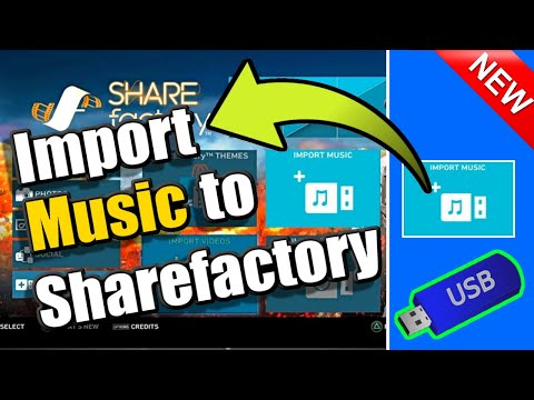 How to IMPORT MUSIC to SHAREFACTORY PS4 (Easy Tutorial) thumbnail
