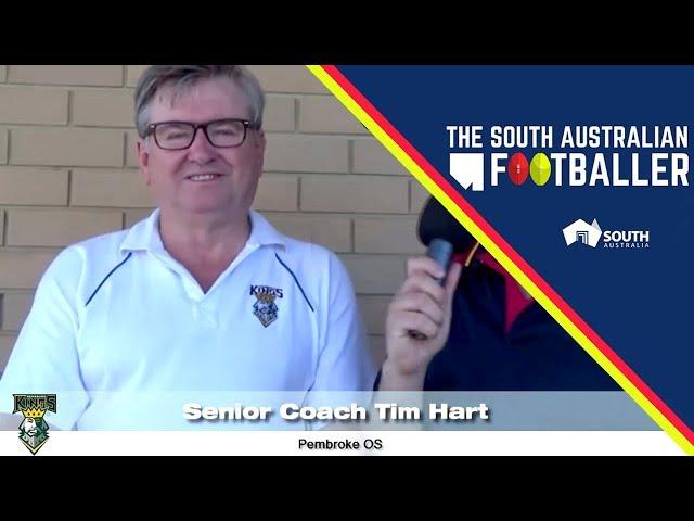 SA Adelaide Footballer 4-3: 60-Second Rapid Fire with Pembroke OS Senior Coach, Tim Hart