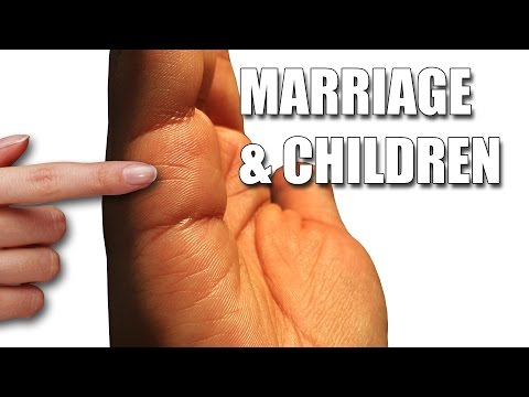 MARRIAGE & CHILDREN LINES Female Palm Reading Palmistry #111