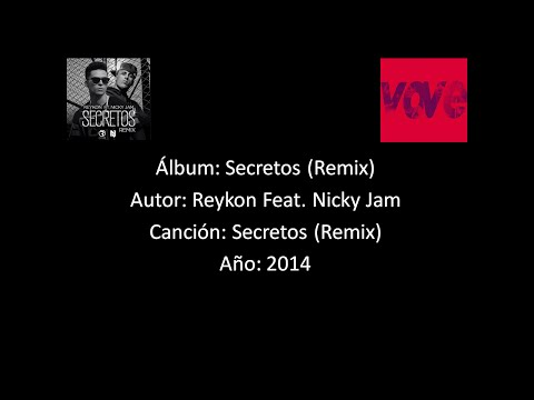 Reykon Feat. Nicky Jam - Secretos (Remix) [Lyrics - Letra]