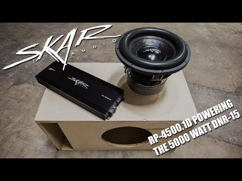 Skar Audio RP-4500.1D Making A Ruckus With a 5000 Watt DNR-15