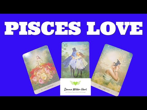 PISCES~YOUR LOVER WORKING
