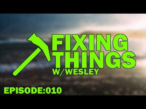 Portable CD Player 2 :: Fixing Things With Wesley (#10)