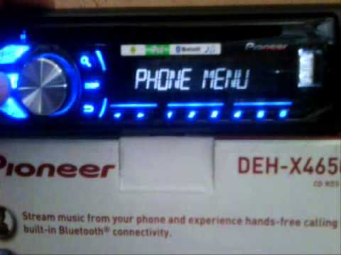 hqdefault seting pioneer deh x4650bt head unit mobil stereo system youtube pioneer deh x4800bt wiring diagram at virtualis.co