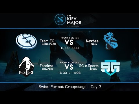 The Kiev Major 2017 : Swiss Groupstage Day 2 - [Thai Caster]