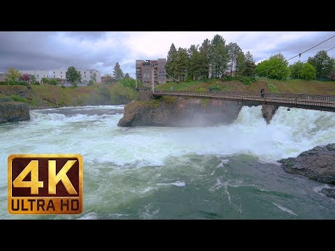4K (Ultra HD) Cityscapes | Spokane Falls, Eastern Washington - Trailer
