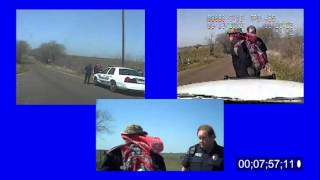 Complete Dashcam Video of Illegal Arrest of Army Master Sergeant CJ Grisham