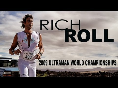 Vegan Athlete Rich Roll Racing 2009 Ultraman World Championships