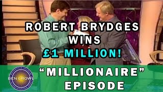 Who Wants to be a Millionaire UK 3rd Million Pound Winner Robert Brydges 29/9/2001