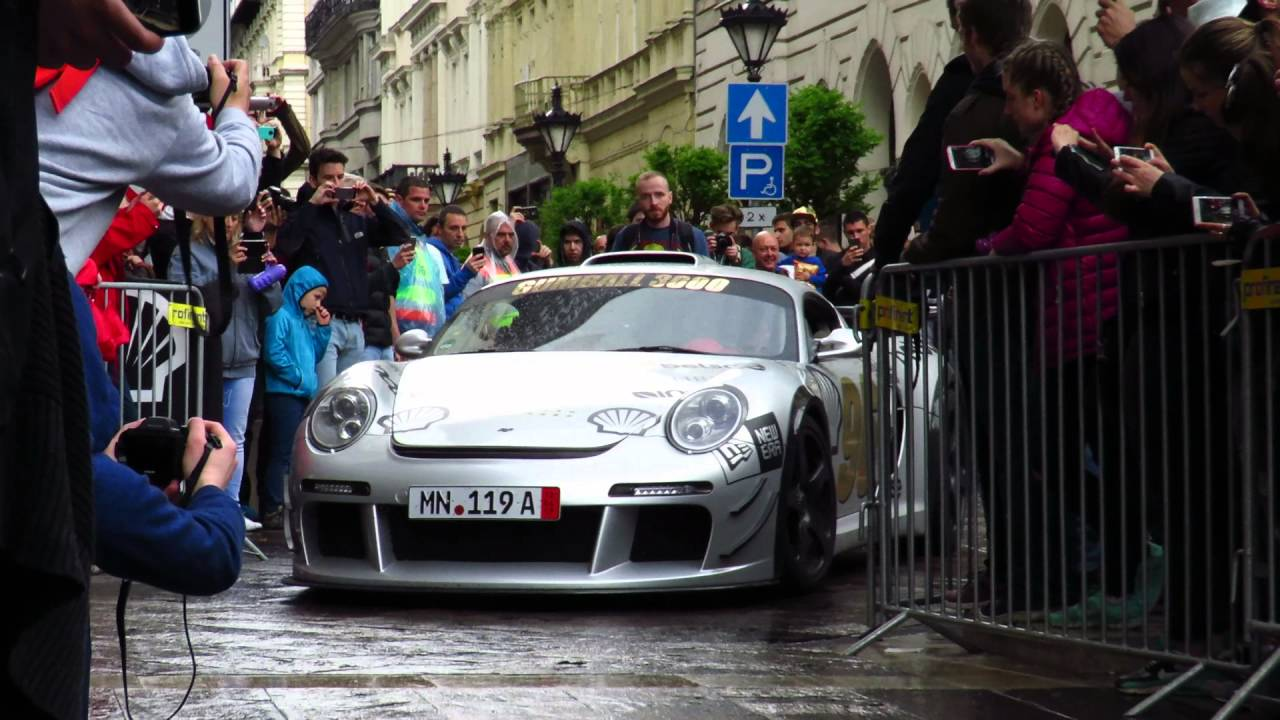 """Ferrari and """"fake Porsche Cayman"""" roll in to the Gumball ..."""
