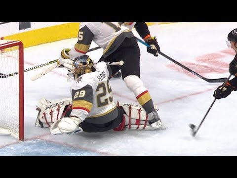 Fleury dazzles with superb shutout performance