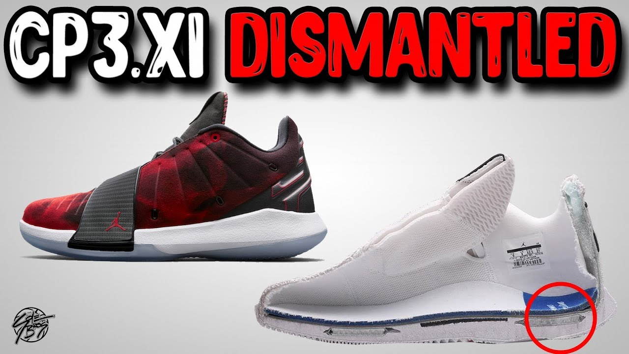 Jordan CP3.XI Distmantled!