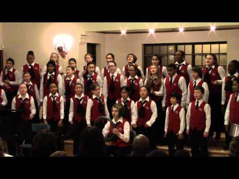 2015 01 26 Rogers Park, Chicago Children's Choir Concert, Indian Boundary Park - Jasmine Luke
