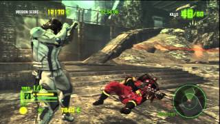 Anarchy Reigns - NEW CAMPAIGN GAMEPLAY 2012 - PS3/XBOX [HD]