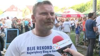 Niedźwiedza: Pobili rekord Polski w biegu w gumofilcach