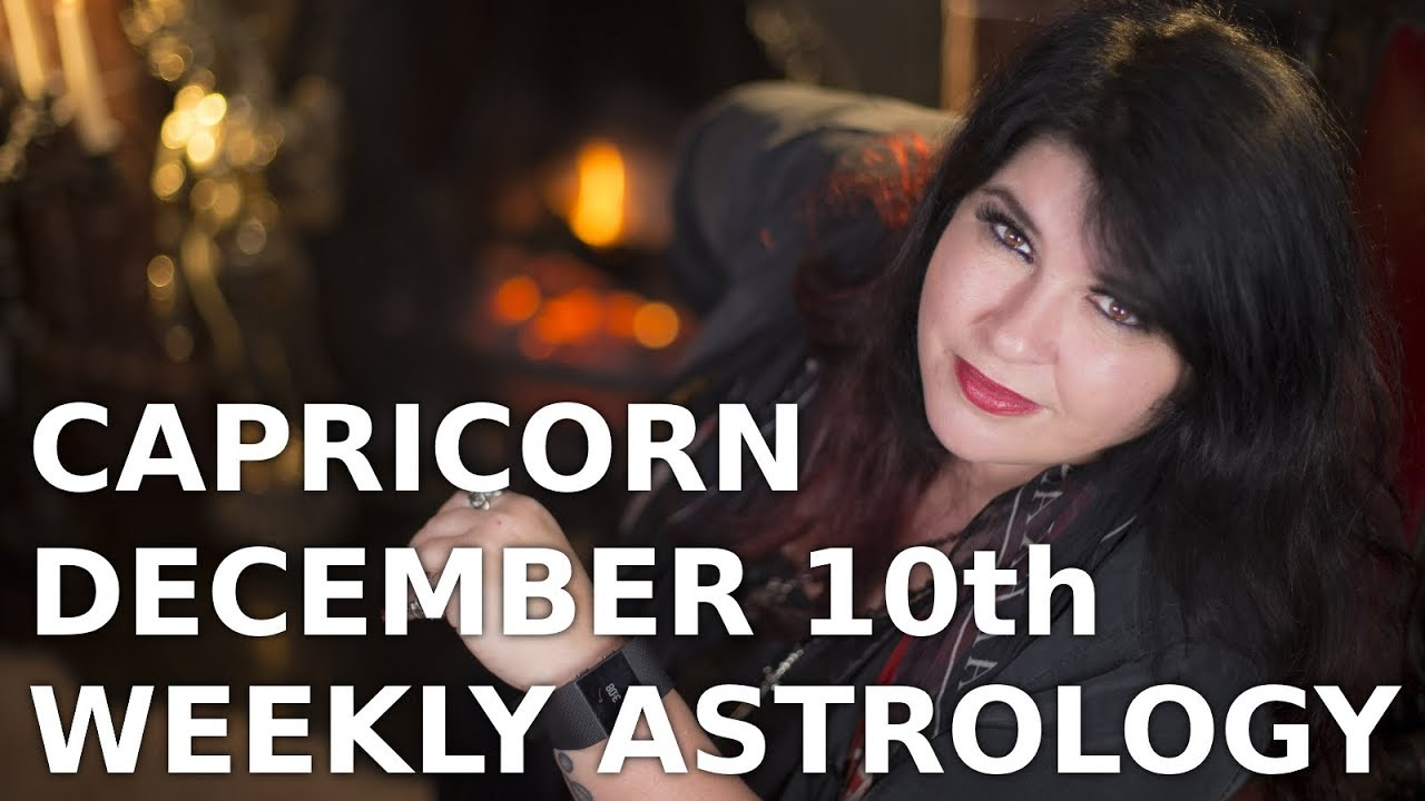 capricorn weekly horoscope 26 december 2019 by michele knight