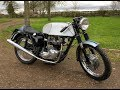 1965 Triumph Bonneville Thruxton Spec Start Up