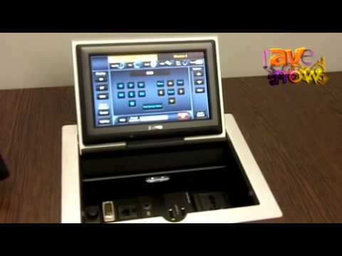 Driver for Extron TLP Pro 720M Touchpanel