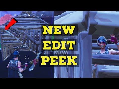 New Way To Peek - Fortnite Tips And Tricks