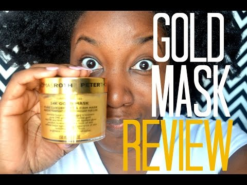 PETER THOMAS ROTH GOLD FACE MASK REVIEW