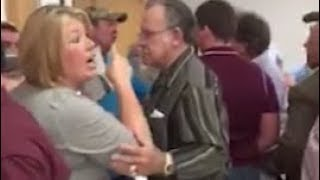 Fight at Lake George meeting